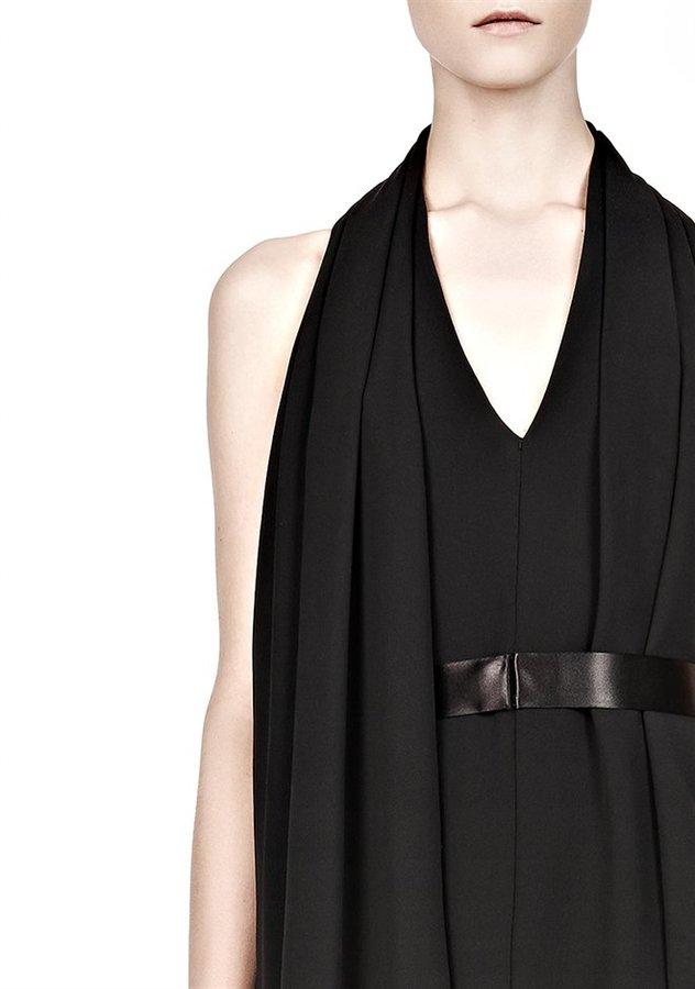 Alexander Wang Wrap Scarf Dress With Belt