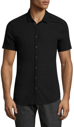 John Varvatos Short-Sleeve Button-Down Shirt