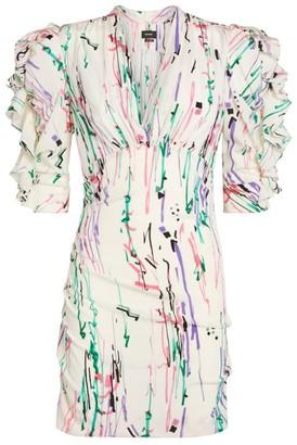 Isabel Marant Silk Farah Mini Dress