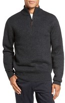 Rodd & Gunn Men's 'Stirling Falls' Wool Quarter Zip Sweater