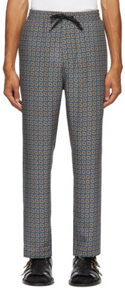 Tiger of Sweden Blue Torin Trousers