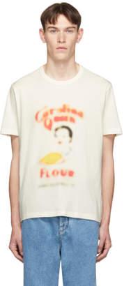 Our Legacy Off-White Flour New Box T-Shirt