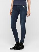 Calvin Klein Medium Wash Skinny Ankle Jeans