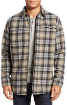 Timberland Faux Shearling Lined Long Sleeve Regular Fit Shirt