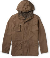 Aspesi Cotton Hooded Field Jacket