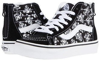 Vans Kids SK8-Hi MTE (Little Kid) ((Punk Panda) Black/True White) Boy's Shoes