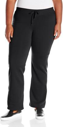 Southpole Juniors Plus-Size Basic Fleece Pants