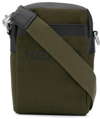 Kenzo Crossbody Cotton Pouch Bag