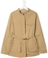Ermanno Scervino TEEN embellished military jacket