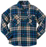 Appaman Flannel Shirt (Toddler/Kid) - Green Plaid-2T