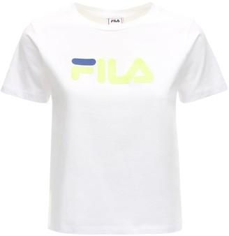 Fila Urban Salome Logo Cotton T-shirt