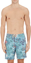 Faherty MEN'S PAO PAO BAY-PRINT SWIM TRUNKS