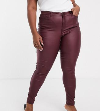 Junarose coated jeans
