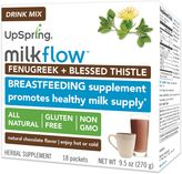 Upspring MilkflowTM Fenugreek and Blessed Thistle 18-Pack Drink Mix in Chocolate