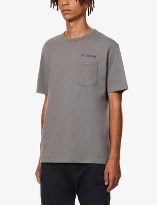Patagonia Road to Regenerative brand-print organic cotton-jersey T-shirt