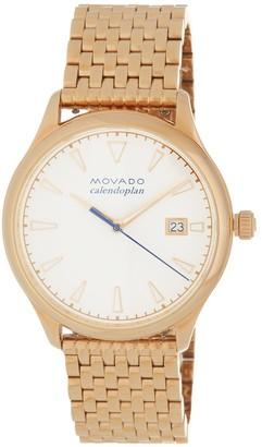 Movado Men's Heritage Bracelet Watch, 36mm