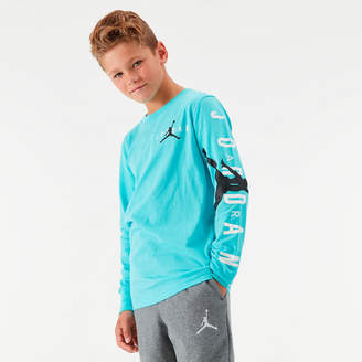 Nike Kids' Jordan Jumpman Arm Hit Long-Sleeve T-Shirt