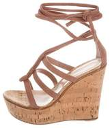 Gianvito Rossi Cayman Platform Wedges w/ Tags