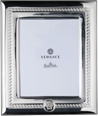 """Versace Silver Plate Photo Frame, 8"""" x 10"""""""