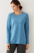 J. Jill Pure Jill Mixed-Yarn Elliptical Sweater