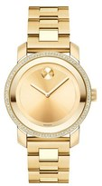Movado Women's 'Bold' Diamond Bezel Bracelet Watch, 36Mm