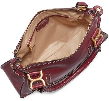 Thumbnail for your product : Chloé Medium Marcie Leather Satchel