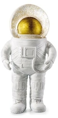 Donkey Products - White and Gold the Giant Astronaut Snow Globes