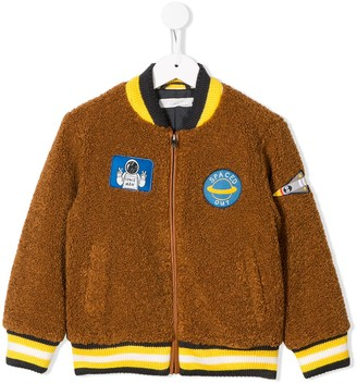 Stella McCartney Kids Spaced Out bomber jacket