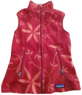 Patagonia Red Polyester Knitwear