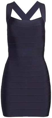 Herve Leger Icon Mini Dress