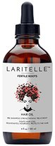 Laritelle Organic Hair Loss Treatment for Men and Women, 4 Ounce | Fortifying, Strengthening and Rejuvenating Follicle Fuel | Stops Hair Shedding, Promotes New Hair Growth | GMO-free. Vegan