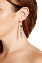 Diamond-Cut Sparkle & Bead Chain Drop Earrings