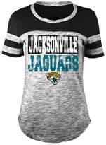 5th & Ocean Women's Jacksonville Jaguars Space Dye Foil T-Shirt