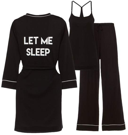 Bella Maternity Let Me Sleep 3 Piece Pj Set