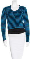 Akris Punto Wool Striped Cardigan Set