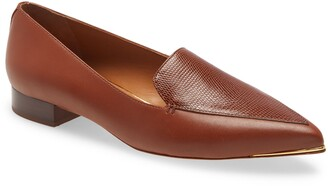Tory Burch Lila Pointed Toe Loafer