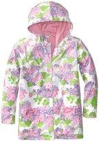 Hartstrings Big Girls' Floral Hooded Raincoat