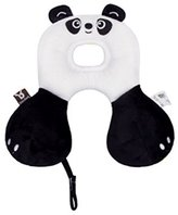Nunubee Children Infants Neck and Head Support Pillow Pad Kids Animal Head Pillow Stroller Car Seat Travel pillow For 0-1 Years Panda