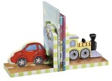 The Well Appointed House Teamson Design Transportation Theme Bookends for Kids
