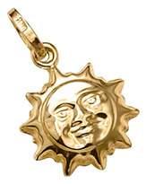 Fashion World 9 Carat Gold Sun Charm