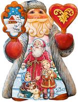 Pets Mini Tale Illustrated Santa Figurine