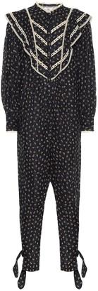 Etoile Isabel Marant Realia printed cotton jumpsuit