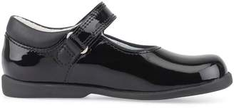 Start Rite Start-rite Girls Slide School Shoes - Black Patent