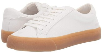 Madewell Sidewalk Low Top Sneakers (Pale Parchment Canvas) Women's Shoes