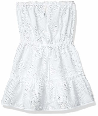Milly Women's Cotton Eyelet Becca Cover up