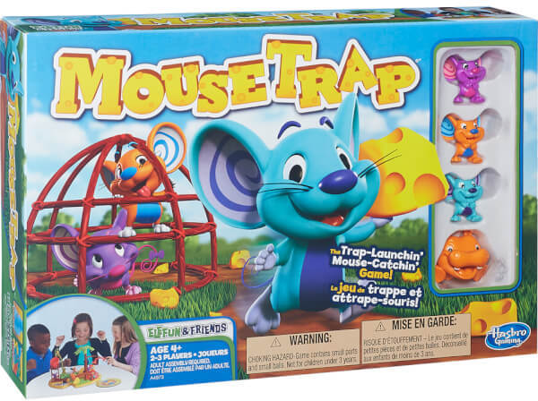Hasbro Elefun and Friends Mousetrap