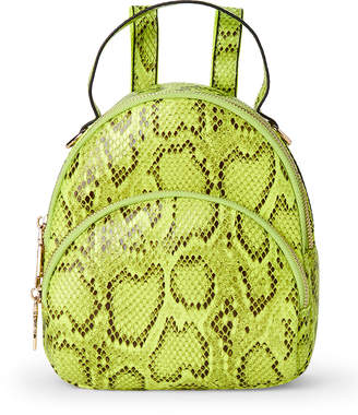 Urban Expressions Nichole Snakeskin-Effect Vegan Backpack