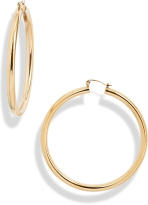 Knotty Extra Large Hoop Earrings