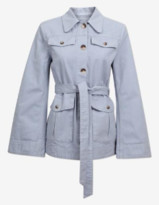 Baum und Pferdgarten Bianna Jacket In Light Blue - 34 - UK8 / Eventide Blue
