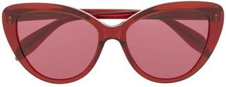 Cat Eye Cat-Eye Frame Sunglasses